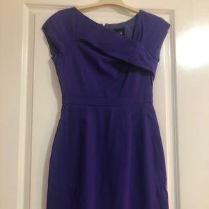 Classic purple suit dress